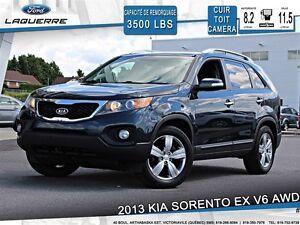 2013 Kia Sorento EX V6**AWD*CUIR*TOIT*CAMERA*A/C**