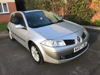 RENAULT MEGANE 1.6 VVT DYNAMIQUE 12 MONTHS MOT WITH FULL SERVICE HISTORY PANORAMIC ROOF