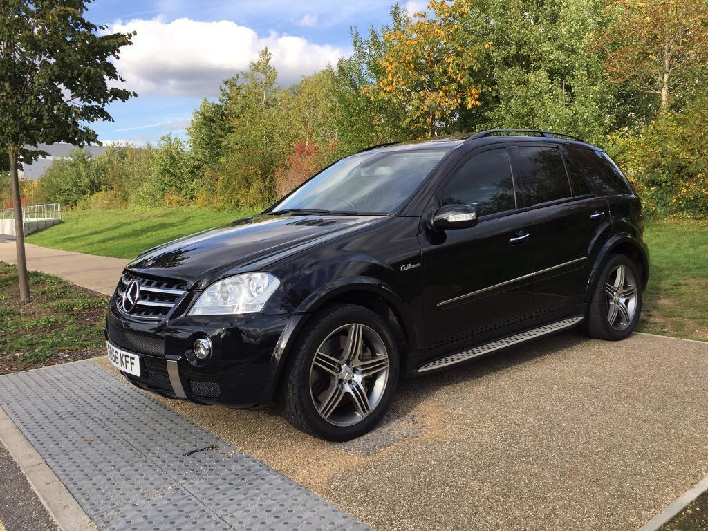 2007 mercedes ml 63 amg 4 matic 6 3 aut black immaculate leather fully loaded warranty part. Black Bedroom Furniture Sets. Home Design Ideas