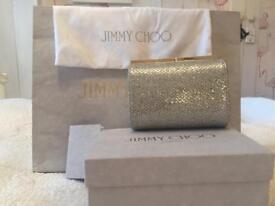 Stunning Jimmy Choo bridal occasion clutch bag