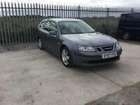 2007/07 SAAB 9-3 VECTOR SPORT 1.9 TID FULL SERVICE HISTORY LONG M.O.T LEATHER GREAT SPEC...