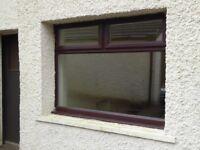 Large double glazed opening window