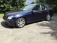 2007 Mercedes C180 Estate kompressor Avatagarde,FSH,12 months Mot