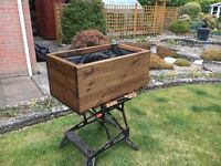 Wooden planters made to order, all sizes available
