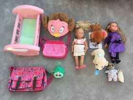 Selection of Girls Toys/dolls