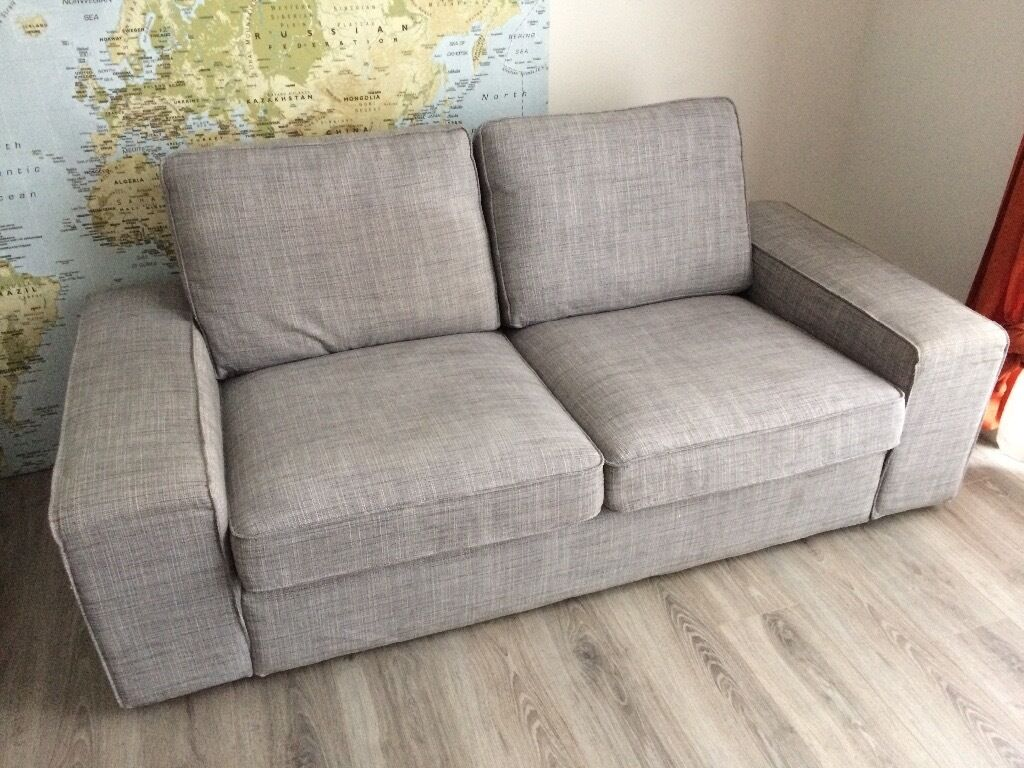 ikea kivik isunda grey sofa in southside glasgow gumtree. Black Bedroom Furniture Sets. Home Design Ideas
