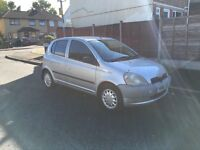 TOYOTA YARIS 1.0 PX TO CLEAR 2001