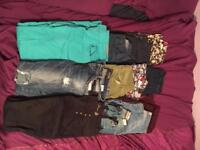 Womens jeans 12 pairs