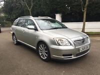TOYOTA AVENSIS T3-S D-4D 2005 ESTATE 2.0 DIESEL 5 DOOR LONG MOT DRIVES THE BEST 2 KEYS BARGAIN