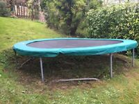 TP Large 14 ft Trampoline (and cover) - great condition