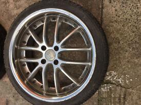 "Renault clio 19 21 scenic Kangoo Laguna Megane Modus Twingo Alloy wheels 17"" inch alloys wheel MG ZR"