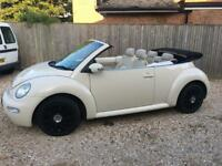 VW Beetle 1.9 tdi convertible