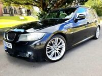 BMW 330D M-SPORT LCI*INDIVIDUAL*2010*AUTO/P-SHIFT*1-OWNER*FBMWSH*LEATHER*SAT-NAV*XENONS*H-SEATS#MINT