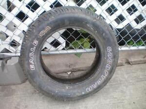 1 Goodyear Eagle GA All Season Tire * P205 60R15 90S * $20.00 .  M+S / All Season Tire ( used tire )
