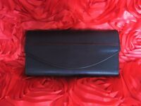 Trifold genuine leather wallet / clutch for ladies