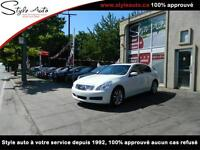 2009 Infiniti G37 Sedan LUXURY CUIR TOIT AWD
