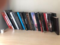 Collection of 30 gaming guides and art books