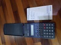 Scientific Calculator Casio fx-82Super c/w instructions & Case