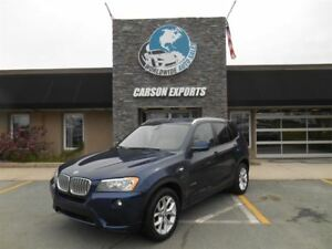 2013 BMW X3 xDrive28i! LOOK PANO ROOF! FINANCING AVAILABLE!