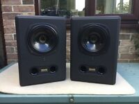 The brilliant Tannoy AMS 8 Monitor Speakers
