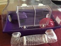 Dwarf hamster/ mouse cage