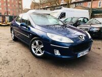 55 plate- peugeot 407 - 2.0 litre - fully loaded- sat navigation - one year mot - perfect drive