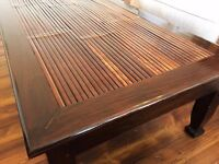 Becara Style Large Coffee Table (Solid Wood)