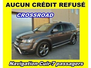2015 Dodge Journey CROSSROAD AWD 7 PASSAGERS SIÈGES CHAUFFANTS *