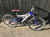 "Salcano Attack 24"" Wheel Kids Bike. Serviced, Free Lock, Lights, Delivery"