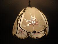 Metal brass glass shades ceiling lights