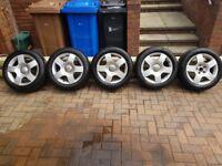 """Audi A4 Alloy Wheels & Tyres - 16"""" - 205/55/16"""