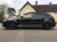 AUDI S3 SPORTBACK BLACK EDITION PAN-ROOF QUATTRO STAGE 1 FULLY LOADED HPI CLEAR BARGAIN