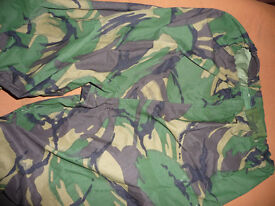 ARMY ISSUE DPM CAMO GORETEX TROUSERS 75/80/96