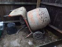 Belle 150 Mini Mix Electric Cement Mixer 110v no stand