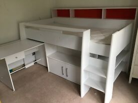 Cabin Bed only 18 months old, very good condition.
