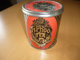 VINTAGE RETRO - TY PHOO TEA TIN