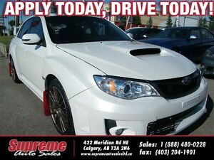 2013 Subaru WRX STi SPORT-TECH 6-SPEED/AWD/H.SEATS/ROOF