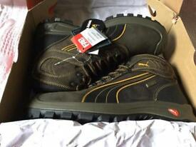 BRAND NEW steel toe puma working boots.