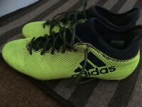 Adidas studded football boots Size 10