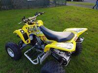 Suzuki Ltz400 2005 road legal quad