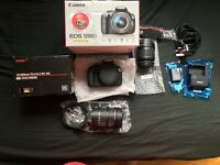 Canon 1200d + Sigma 18 - 200mm ASAP