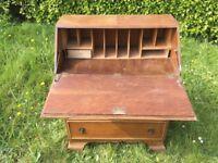 Bureau Desk With Lock & Key - Restoration Project