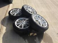 BMW 17 inch msport alloys staggered fitament