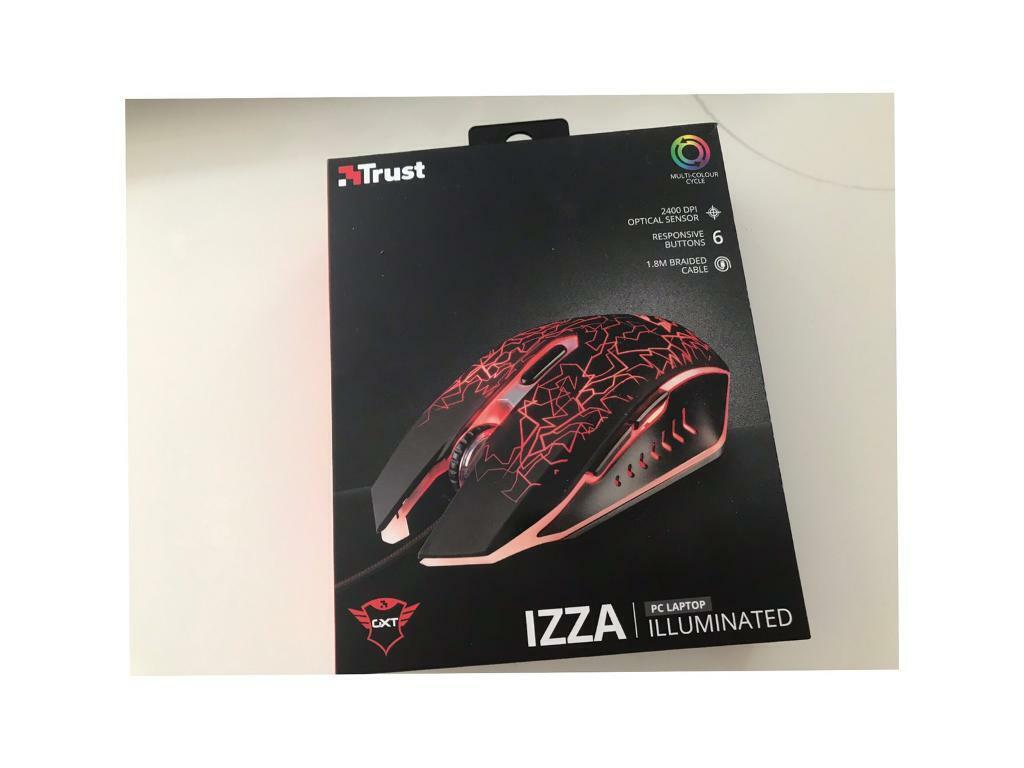 aa490f7c204 GXT 105 izza illuminated gaming mouse- new | in Cheshunt ...
