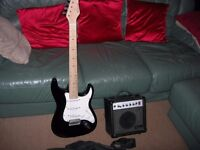 WEST WOOD ELECTRIC GUITAR FOR SALE(WITH CASE,STRAP, LEAD)