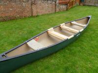4 Man Canadian Touring Canoe