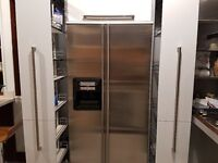 ***Never Used*** Smeg Double American Refrigerator with Water and Ice Dispensers