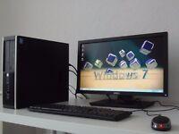 HP COMPAQ 8200 ELITE-i5- DESKTOP-PC+ 22 INCH MONITOR