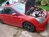 Honda civic type r parts. Doors.boot.seats.exhaust wheels