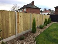Best quality wooden feather edge fence panels